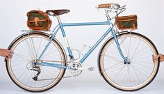 The A. Homer Hilsen By Rivendell Bikes. Truly an amazing bike.