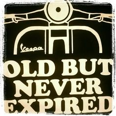 Old but never expired...