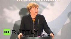 "Germany: Merkel thanks foreign workers for ""huge effort"" in coming to Ge..."