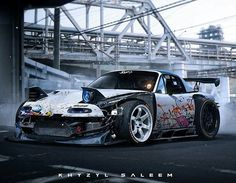 """This Miata is so """"Frankster!"""" (That is Frankenstein & Gangster combined.)"""