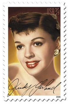 Judy Garland Stamp