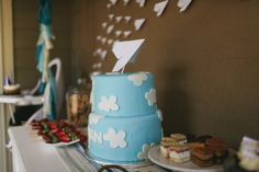 vintage pretty: Paper Airplane First Birthday //