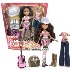 MGA Entertainment Bratz Cowgirlz Series 10 Inch Doll Set - Dazzlin' Diva YASMIN…