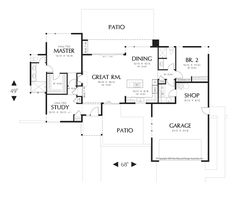 Image for Westside-Tons of Room in a Smart, Compact Floor Plan-Main Floor Plan