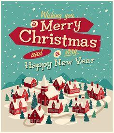 Christmas Cards 2014 by Imago Creata, via Behance