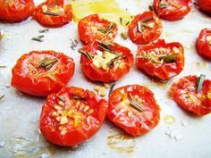 Ofentomaten & gebackenes Tomatenpesto