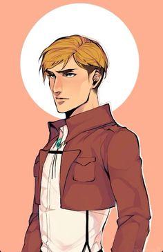 Erwin = Commander Handsome