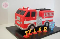 Fire Truck - Cake by funni