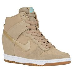 Nike Dunk Sky Hi - Desert Camo/Sail/Gum Med Brown/Desert Camo | Width - B - Medium | Essential Product #: 44877200 $120
