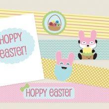 Kawaii Easter Printables #freeprintables #easter #ishareprintables