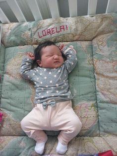 Boxkleed zelf gemaakt voor nichtje Lorelai!