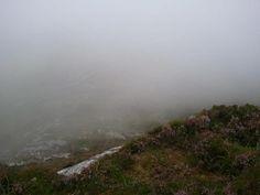 climbing the mountain in connemara