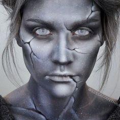 Stein Statue Kostüm selber machen   Kostüm Idee zu Karneval, Halloween & Fasching