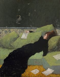 La liseuse - Thomas Bossard