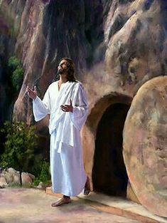 He Arose on the Day! God and Jesus Christ Pictures Of Jesus Christ, Religious Pictures, Religious Art, Images Of Christ, Where Is Jesus, Jesus Is Lord, Jesus Christus, Jesus Art, Biblical Art