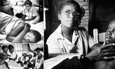 Labor of love: Remarkable photos of South Carolina midwife who nursed 1950s community living in crippling poverty that inspired thousands of dollars in donations