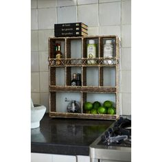 The Kitchen Wall Organizer is ideal for storing your kitchen stuff efficiently, so you will always have your kitchen organised and tidy.