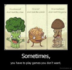 I'm a mushroom and I HATE this game