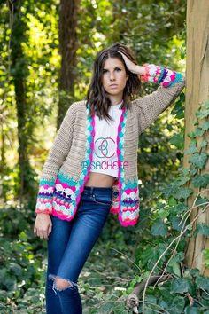 Crochet Baby Dress Pattern, Crochet Coat, Crochet Winter, Crochet Jacket, Crochet Cardigan, Crochet Clothes, Knitwear Fashion, Crochet Fashion, Crochet Lingerie