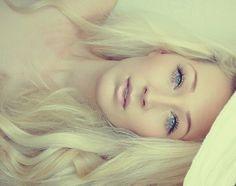 Eyelashes. Hair. Skin. Flawless