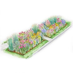 Add curb appeal to your home with these appealing multiseason flower gardens.