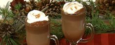 Cinnamon Hot Chocolate. Nothing saves you from the cold like a warm cup of hot chocolate!