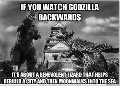 Godzilla | 19 Movies That Would Be Hilarious Backwards