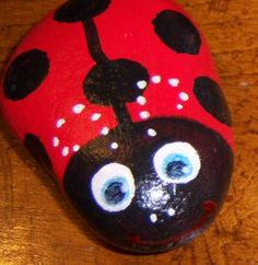 Another ladybug rock. Sweet.