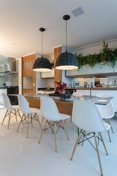 Ideias de sala de jantar com a cadeira Charles Eames