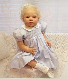 REBORN JANNIE deLANGE BABY/TODDLER - LOUISA / ADORABLE / FAKE BABY   eBay