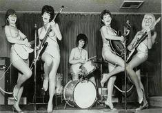 The LadyBirds Band: World's 1st Topless All-Girl Band