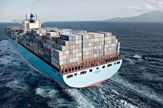 Maersk Triple-E container ship