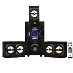 Blue Octave Home B53 5.1 Surround Sound with LED lights and Bluetooth Home Entertainment System #Blue #Octave #Home #Surround #Sound #with #lights #Bluetooth #Entertainment #System