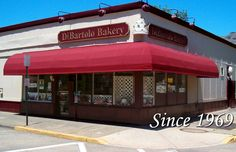 DiBartolo Bakery - A Tradition of Quality Since 1969, Collingswood, NJ. Cinnamon buns and cannoli!!!