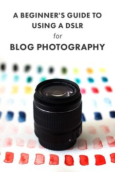 A Beginner's Guide to Using a DSLR for Blog Photography | Having gorgeous photos on your blog is becoming downright necessary in today's visual world. In this post, we're diving into all those settings on your DSLR that may make no sense to you right now, but which have a big impact on your photos. Click through to check 'em out!