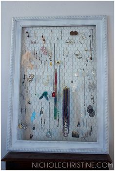 DIY #Jewelry Display
