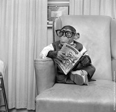 In his time off from the Sterling Cooper Advertising Agency, Leland enjoys catching up with recent literary trends.