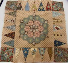 Amazing block, would be a great Medallion Quilt center!