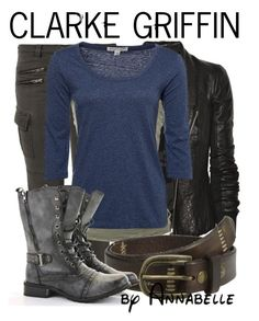 """""""Clarke Griffin"""" by annabelle-95 ❤ liked on Polyvore featuring Liebeskind, Rick Owens, Lola, Bed