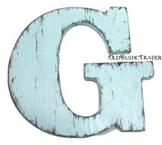 Letter G Wall Decor Rustic Wood Sign Chic Wedding Photo Prop Nursery Kids Engagement Pinterest Signs