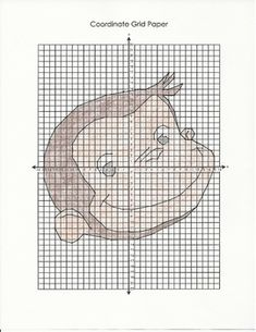 Coordinate Graphing Picture [Curious George]