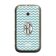 Nokia Lumia 510 Chevron Monogram Case