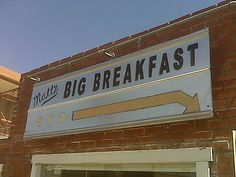 Check! Matt's Big Breakfast Phoenix, AZ- tiny place but good food!