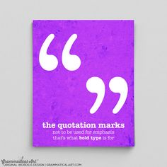 Grammar Police Gift Ideas for Teachers Quotation by GrammaticalArt