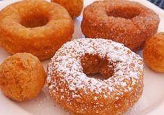 Gluten Free Donuts – Deep Fried