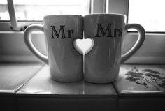 Tazas, regalo novios #regalos #bodas  @Blanca Gil Colomina hablando de tazas...