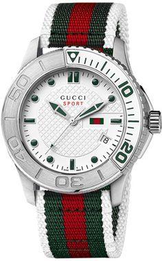 YA126231 - Authorized Gucci watch dealer - Mens Gucci Timeless Sport, Gucci watch, Gucci watches