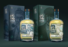 """Tincture """"12 herbs"""" — The Dieline - Branding & Packaging"""
