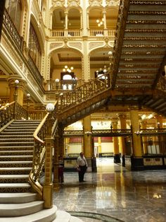 Palacio Postal, Mexico City Wish I was back in my dad's city