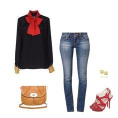 Red Polyvore, Red, Image, Style, Fashion, Moda, La Mode, Fasion, Fashion Models